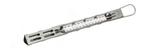 TERMOMETRO PER ZUCCHERO + 80 / + 200 °C , Ø 0,2 x 27,5 cm , confezione 1 pz .