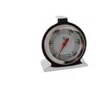 TERMOMETRO PER FORNO INOX + 300 °C , 6 x 7 cm , confezione 1 pz .