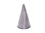 BOCCHETTE FORO A FOGLIA INOX  , H 6 cm ,  confezione 1 pz .