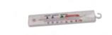 TERMOMETRO PICCOLO IN PLASTICA - 40 / + 40 °C , 13,5 x 2,4 x H 0,13 cm , confezione 1 pz .