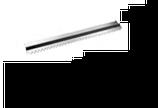 PETTINE CHARLOTTE INOX , 70 x 11 x H 2,5 cm , confezione 1 pz .