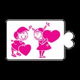 S226 Enamorados con corazón