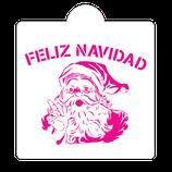 S219 Feliz navidad con santa claus