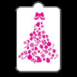 S218 Árbol navidad con moño
