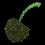 Diamantina verde limón/hoja