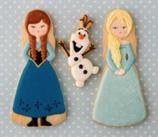 CTR148 Anna y Elsa cuerpo(misma pieza)
