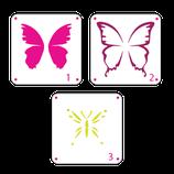 S256 Mariposas 3 pasos