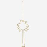 Palmenhänger Metall Gold Madam Stoltz