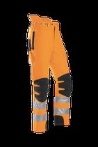 Schnittschutzhose SIP Progress orange nach EN 20471