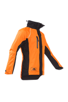 Regenjacke KEIU orange-schwarz