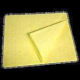 Microfaser-FLEECE-TUCH, 45 x 40 cm, GELB, 1 Stk.