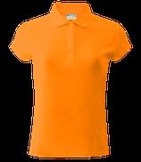 Женское  | поло (оранж)