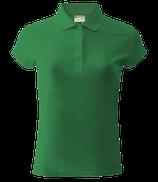 Женское  | поло (ярко-зеленый)