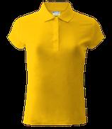 Женское  | поло (желтый)