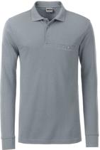 James & Nicholson | JN 866 | Herren Workwear Polo mit Brusttasche langarm