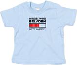 "Babywelt   Babybugz   71.0002    BZ02 Baby T-Shirt kurzarm    Druck ""Windel wird beladen"""