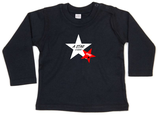 "Babywelt | Babybugz | 71.0011 |  BZ11 Baby T-Shirt langarm |  Druck ""Star Is Born"""