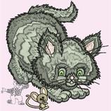 "SWKIDS | Stickerei ""Katze1"""