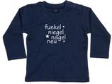 "Babywelt | Babybugz | 71.0011 |  BZ11 Baby T-Shirt langarm |  Druck ""funkel nagel neu"""