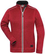 James & Nicholson   JN 897   Damen Workwear Strickfleece Jacke -Solid-