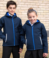 Result | R224JY | Kinder 3-Lagen Kapuzen Softshell Jacke