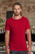 B&C | 01.TM46 | Herren Medium Fit Slub Bio T-Shirt