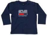 "Babywelt   Babybugz   71.0011    BZ11 Baby T-Shirt langarm    Druck ""Windel wird beladen"""