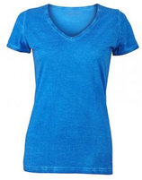 "James & Nicholson | Damen V-Neck T-Shirt ""Gipsy"" | JN 975"