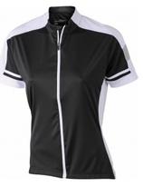 James & Nicholson | Damen Rad Shirt mit Zip | JN 453