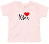 "Babywelt | Babybugz | 71.0002 |  BZ02 Baby T-Shirt kurzarm |  Druck ""The Boss"""