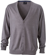 James & Nicholson | JN 661 | Herren V-Neck Cardigan