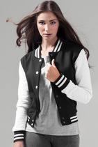 Build your Brand | BY027 | Women's sweat college jacket