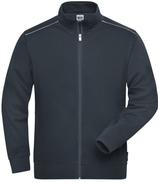 James & Nicholson   JN 894   Herren Workwear Sweatjacke -Solid-