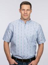 efbe | 177OFPO | Herren Edelweiss-Hemd, kurzarm