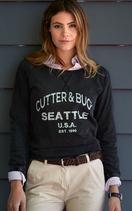 Cutter & Buck | 358411 | THORP DENIM CREW LADIES
