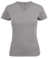 Printer | HEAVY V-NECK LADIES    Damen  T-Shirt | 2264025