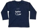 "Babywelt   Babybugz   71.0011    BZ11 Baby T-Shirt langarm    Druck ""Ladys Da Bin Ich"""