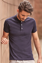 Russell | 566M | Herren Piqué Stretch Polo