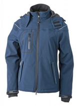 James & Nicholson | JN 1001 | Damen 3-Lagen Winter Softshell Jacket