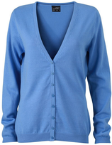 James & Nicholson | JN 660 | Damen V-Neck Cardigan