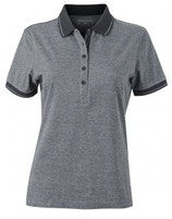 James & Nicholson | Damen Jersey Heather Polo | JN 705
