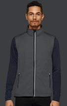 Hakro | № 854 | Herren Light-Softshell-Weste Edmonton