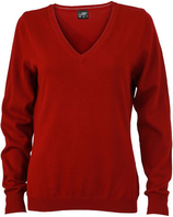 James & Nicholson | JN 658 | Damen V-Neck Pullover