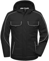James & Nicholson   JN 886   Unisex Workwear Softshell Padded Jacke -Solid-