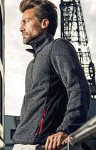 Promodoro | 7700 | Herren Workwear Strickfleece Jacke