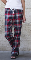 SF | SK083 | Women's tartan lounge pants