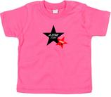 "Babywelt | Babybugz | 71.0002 |  BZ02 Baby T-Shirt kurzarm |  Druck ""Star Is Born"""