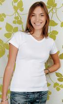 Switcher | EFIA 2855 | V-Ausschnitt T-Shirt Organic Women «rib»