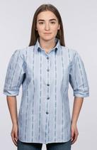 efbe | 177DY-01 | Damen Edelweiss-Bluse, kurzarm