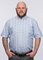 efbe | 177PO | Herren Edelweiss-Hemd, kurzarm